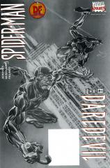 DAREDEVIL/SPIDER-MAN: 1 Dynamic Forces Black and White Variant