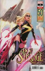 DOCTOR STRANGE (5TH SERIES): 3 Emanuela Lupacchino Carol Danvers 50th Anniversary Variant Cover