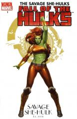 FALL OF THE HULKS: SAVAGE SHE-HULKS: 1